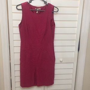 Bass & Co Pink fitted dress